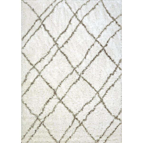 Tryon Ivory/Gray Area Rug by Wrought Studio