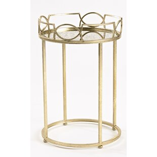 Find a Lattice Edge End Table By InnerSpace Luxury Products