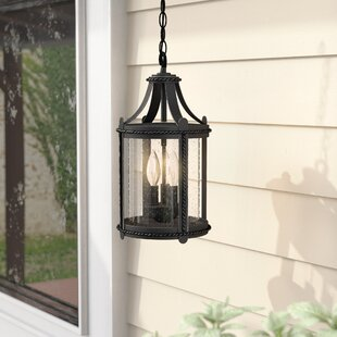 Reviews Halcott 3-Light Outdoor Hanging Lantern By Laurel Foundry Modern Farmhouse