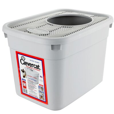 Top Entry Standard Litter Box by Clevercat Innovations