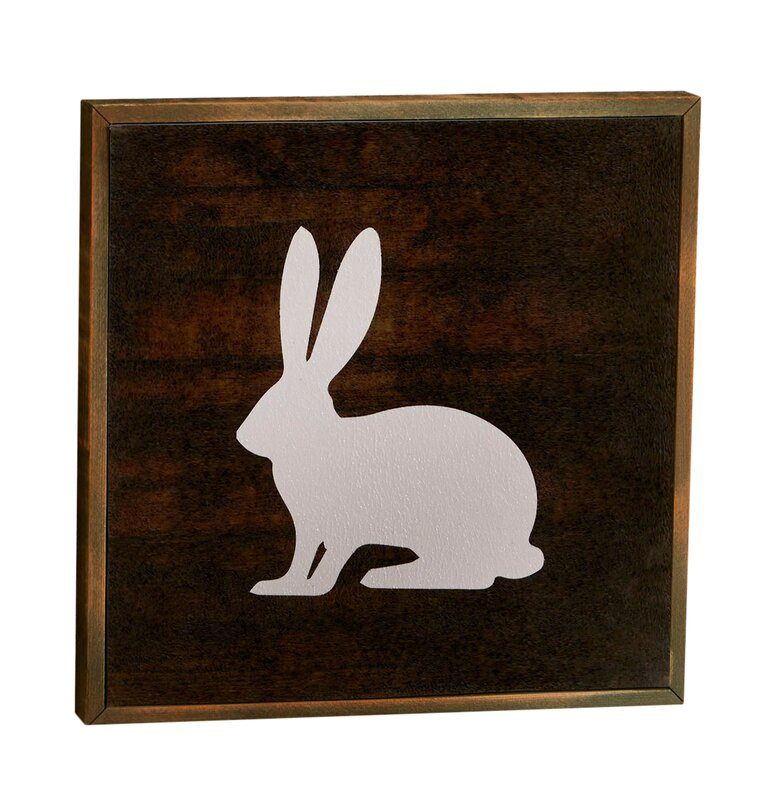 Bunny Woodland Graphic Art Print