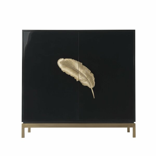 Melange Like a Feather 2 Door Accent Cabinet by Hooker Furniture Hooker Furniture