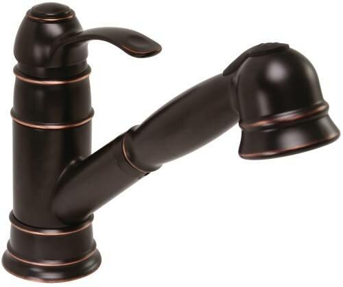 Wellington Single Handle Kitchen Faucet by Premier Faucet