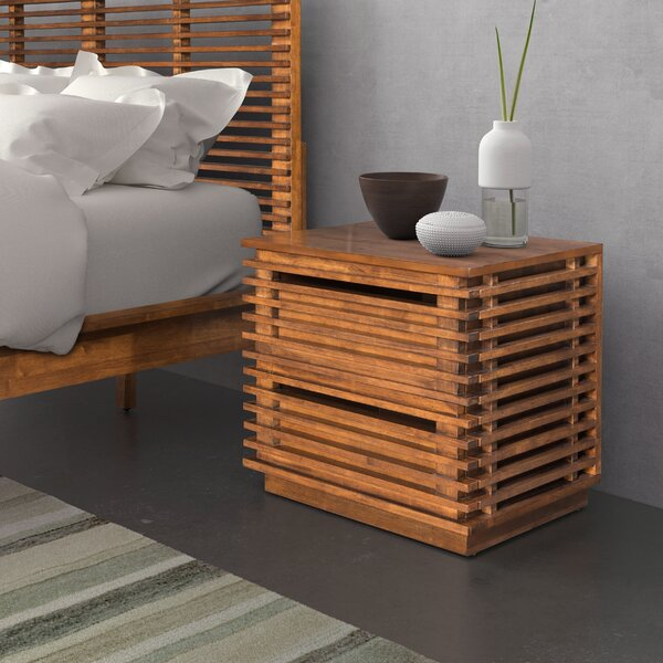Glidden 2 Drawer Nightstand by Brayden Studio