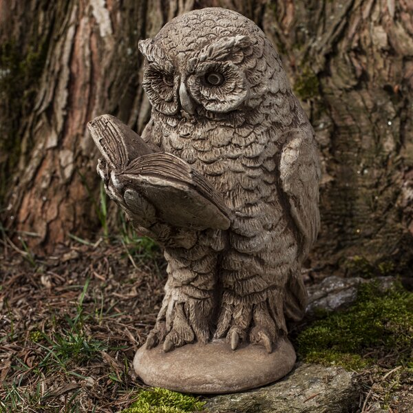 Scholarly Owl Statue by Campania International