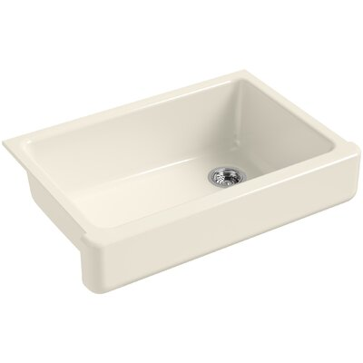 Bowl Sink Under Mount Single Almond 107 Product Image