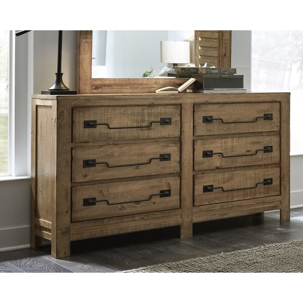 Chaffin 6 Drawer Double Dresser by Gracie Oaks