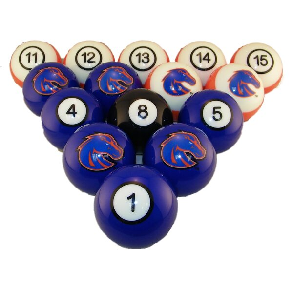 NCAA Pool Ball Set by Wave 7