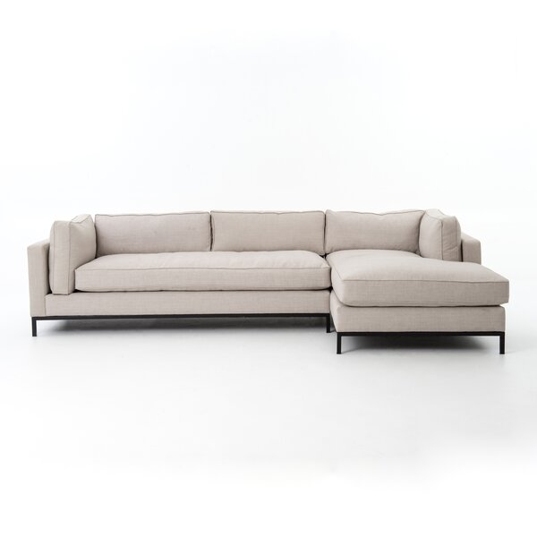 Southwold 2 Piece Sectional with Right Hand Facing Chaise by Brayden Studio