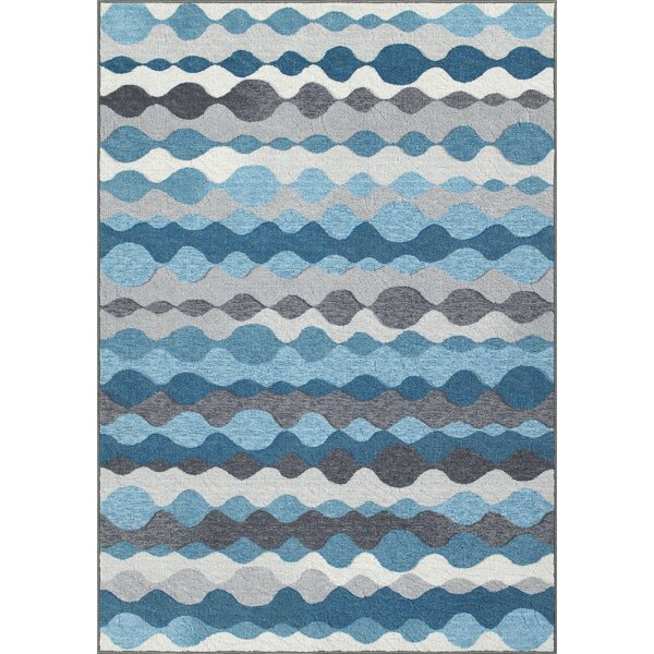 Horizons Blue/Gray Area Rug by Dalyn Rug Co.