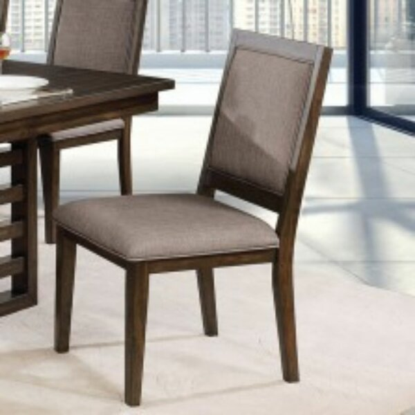 Grattan Upholstered Dining Chair (Set of 2) by Canora Grey Canora Grey