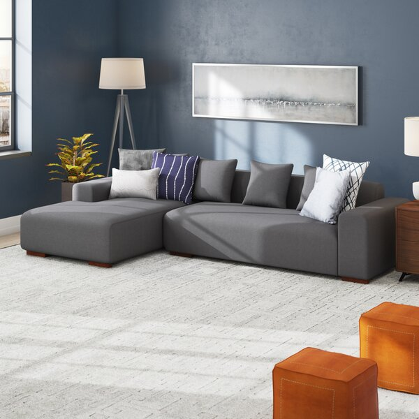 Shop Affordable Checketts Sectional by Brayden Studio by Brayden Studio