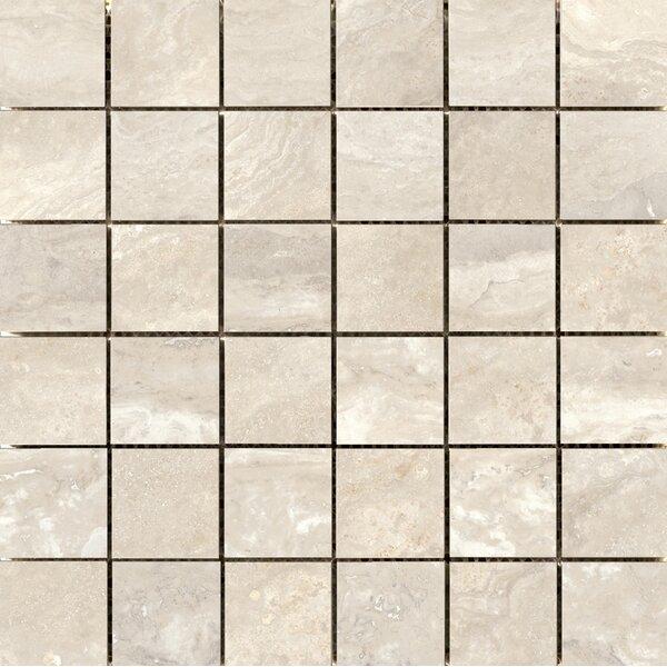 Quest Polished 2 x 2 Porcelain Mosaic Tile in Ivory by Emser Tile
