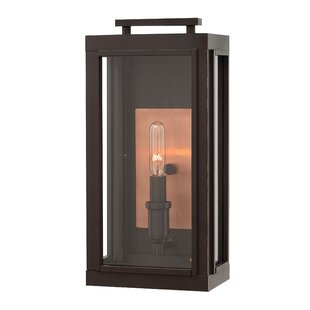 Affordable Price Didymus 1-Light Outdoor Wall Lantern By Brayden Studio