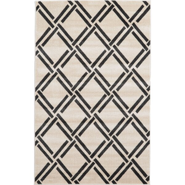 Storyvale Beige Area Rug by Beachcrest Home