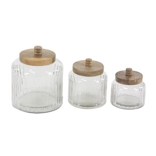 Osterley Storage Jar Set by Gracie Oaks