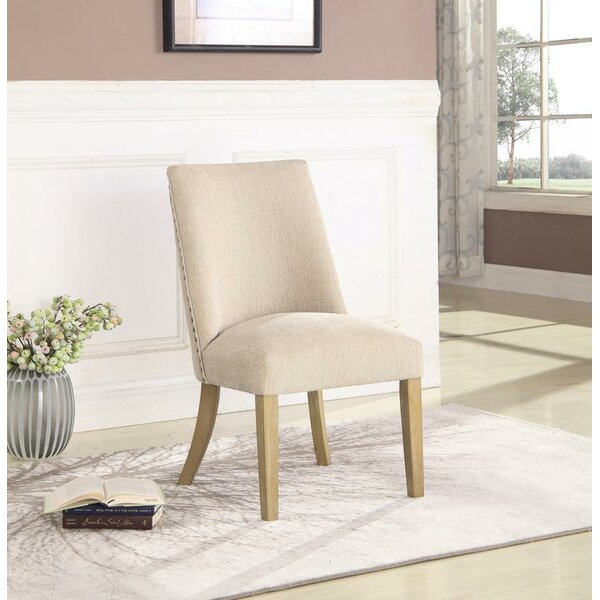 Elsie Upholstered Dining Chair (Set of 2) by One Allium Way