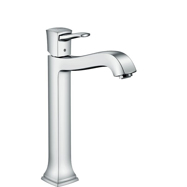 Metropol Classic Single Hole Bathroom Faucet with Drain Assembly