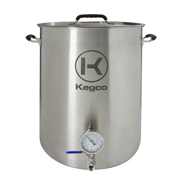 3 Piece 20 Gallon Brew Kettle Set by Kegco