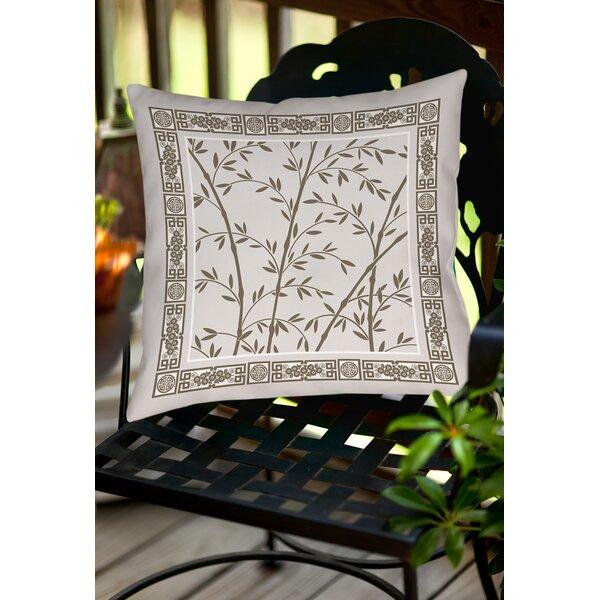 Oriental Treasure Indoor/Outdoor Throw Pillow by Manual Woodworkers & Weavers