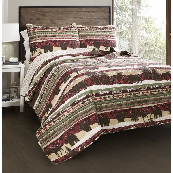 Maja Cotton 3 Piece Reversible Quilt Set by Millwood Pines