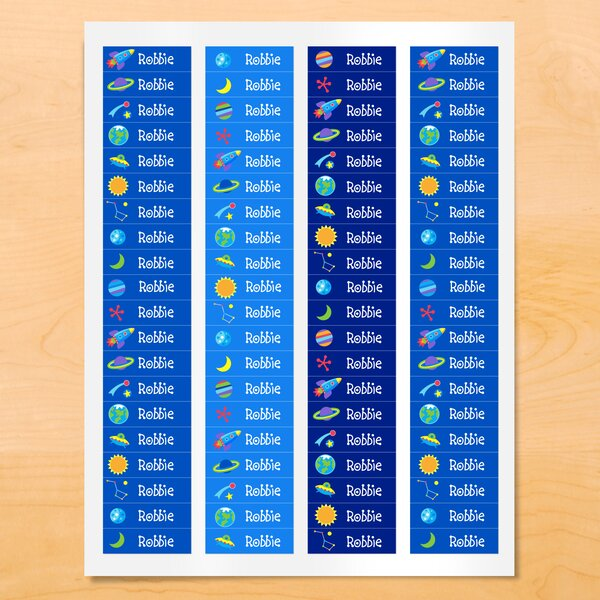 Keech Out of This World Personalized Wall Sticker by Zoomie Kids