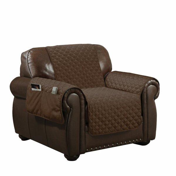 Linen Box Cushion Armchair Slipcover By Winston Porter Best #1