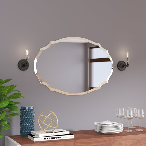 Dunstable Wall Mirror by House of Hampton