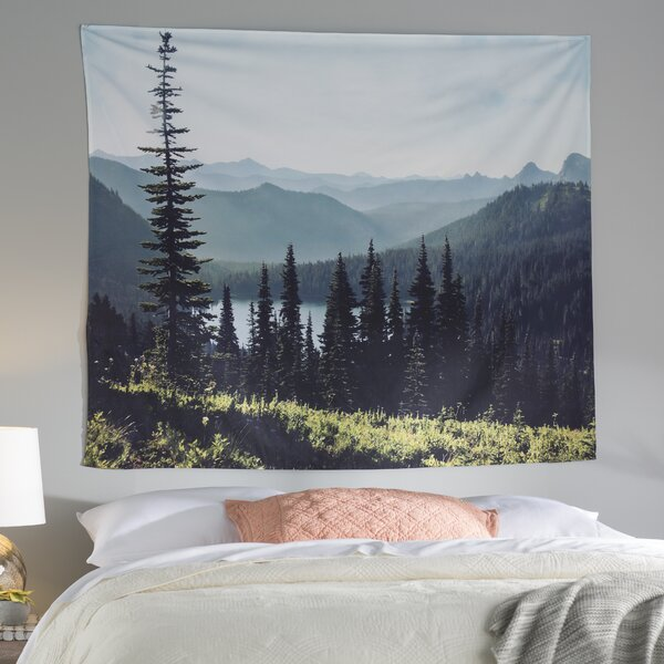 Discover Your Northwest by Sylvia Cook Wall Tapestry by East Urban Home