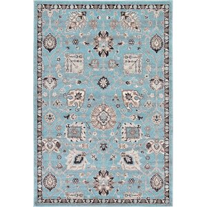 Edinburgh Light Blue Area Rug