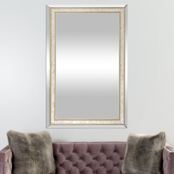 Cheshire Accent Mirror by Rosecliff Heights