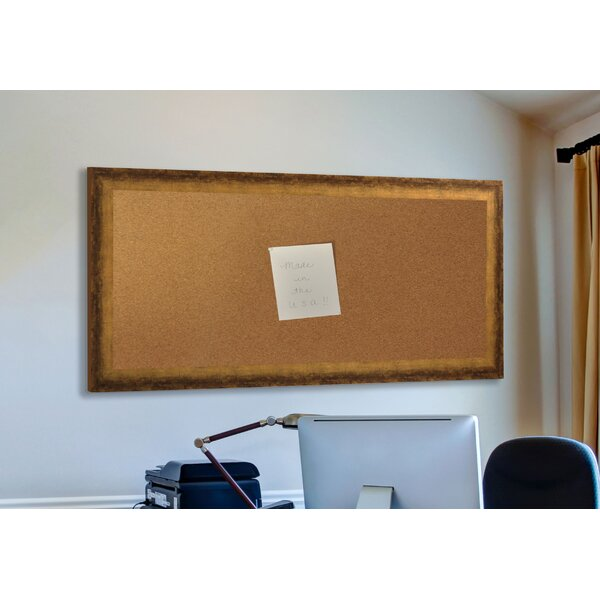 Madilyn Nichole Tarnished Wall Mounted Bulletin Board by Rayne Mirrors