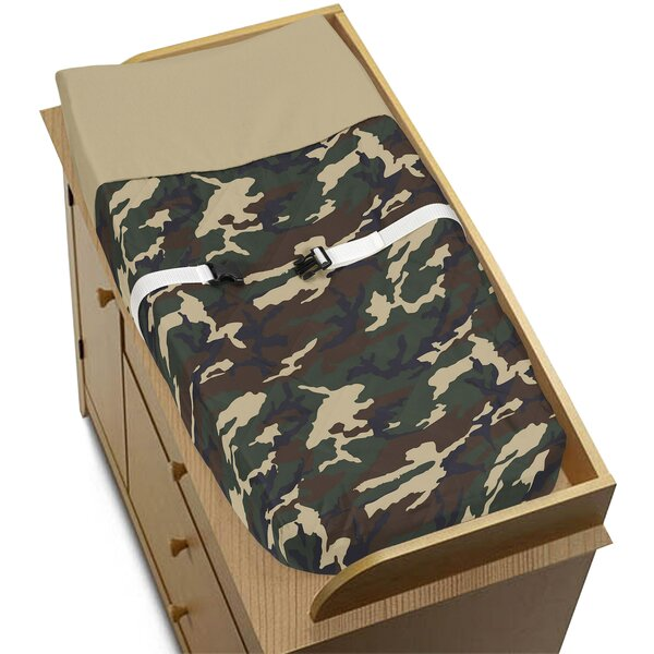 Camo Changing Pad Cover by Sweet Jojo Designs