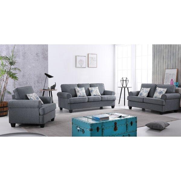 Mccants 3 Piece Living Room Set by Red Barrel Studio