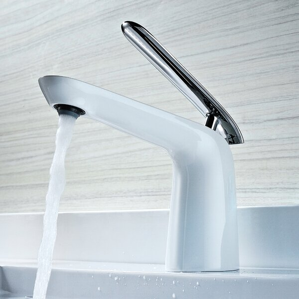 Etude Standard Single Hole Bathroom Faucet with Drain Assembly by ANZZI
