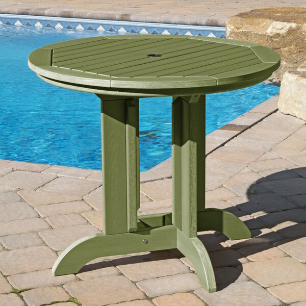 Charney Plastic/Resin Dining Table by Longshore Tides
