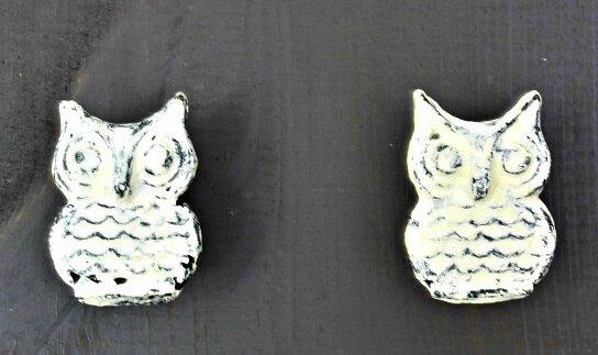 Owl Novelty Knob (Set of 2) by MarktSq