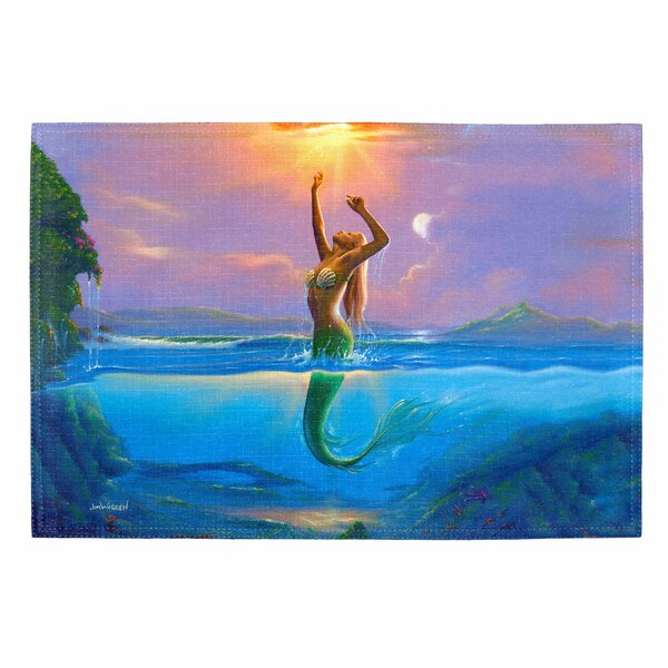 Mermaid Placemat (Set of 2) by Live Free