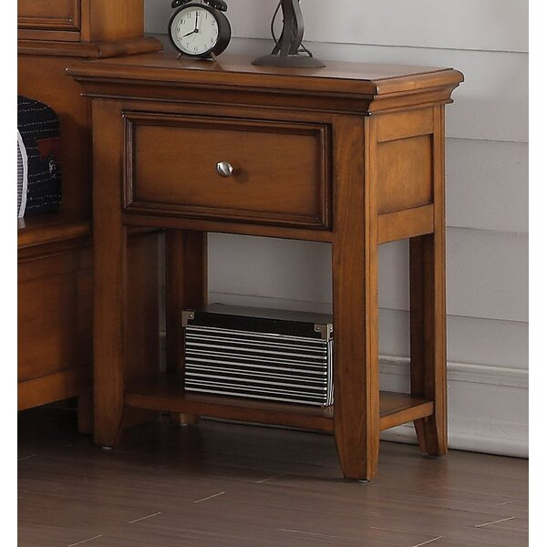 Congdon 1 Drawer Nightstand by Harriet Bee
