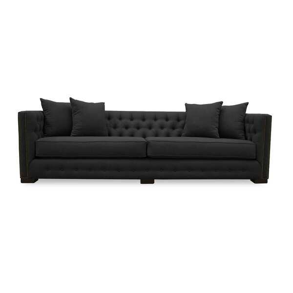 Beautiful Classy Bari Chesterfield Sofa by South Cone Home by South Cone Home