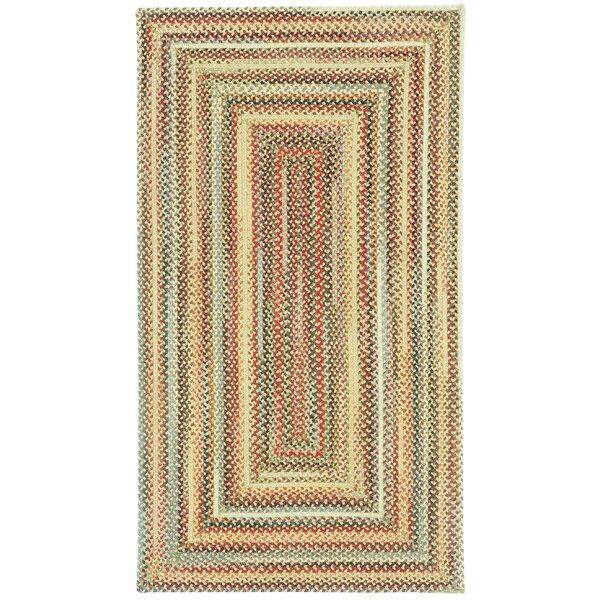 Omaha Braided Wool Gold Rug