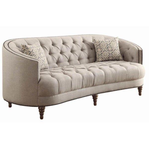 Hayhurst Chesterfield Sofa by Alcott Hill