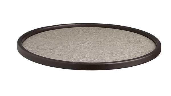 Cosomopolitan Round Serving Tray by Charlton Home