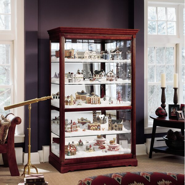 Branstetter Curio Cabinet by Darby Home Co