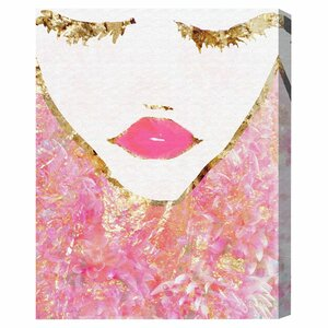 'Goldbloom Coveted' Graphic Art Print on Canvas by Oliver Gal