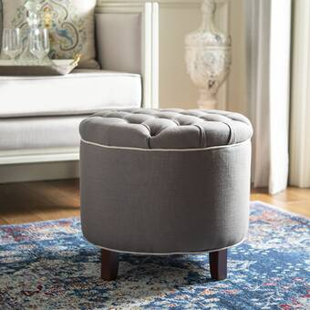 Stupendous Coggin Tufted Ottoman Reviews Joss Main Theyellowbook Wood Chair Design Ideas Theyellowbookinfo