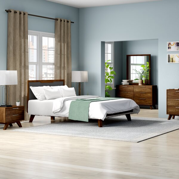 Rory Platform 5 Piece Bedroom Set by Modern Rustic Interiors