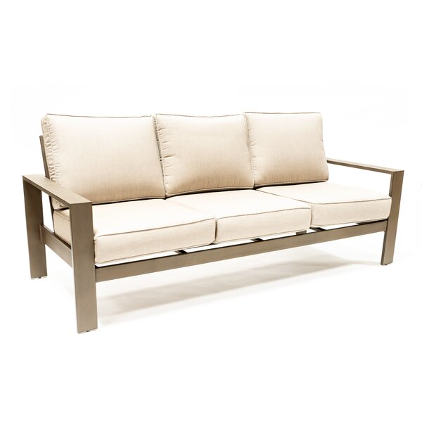 Ringtown Patio Sofa with Sunbrella Cushions by Latitude Run