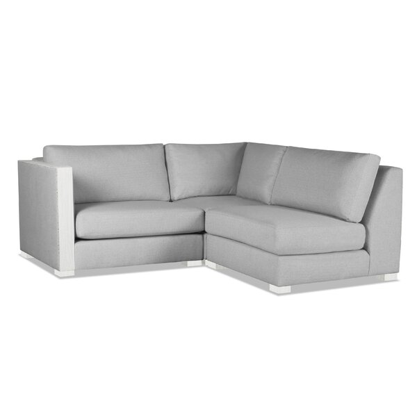 Steffi Right Arm L-Shape Modular Sectional by Orren Ellis