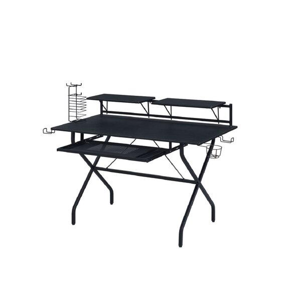 2-Open Compartment Gaming Desk